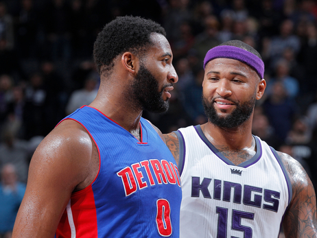 Two of League's Best Big Men Face Off When Sacramento Visits Detroit