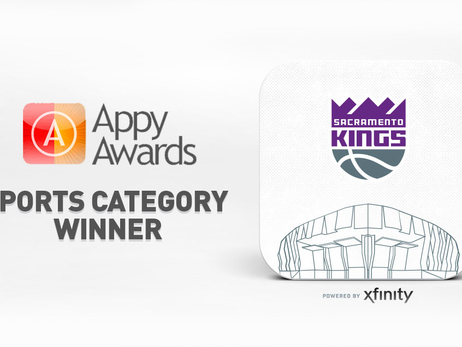 Sacramento Kings + Golden 1 Center App Wins Industry-Leading Award Acknowledging Creativity and Excellence