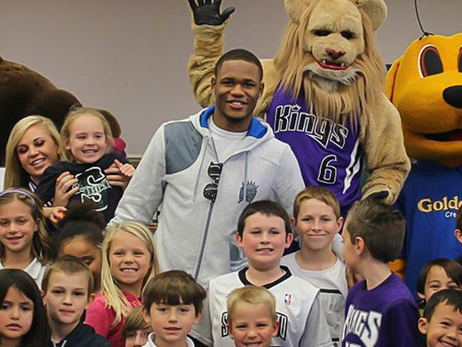 Ben McLemore Finalist for Seasonlong NBA Cares Community Assist Award