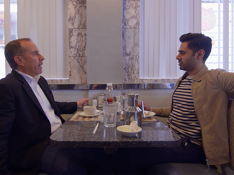 Hasan Minhaj Reps Kings with Jerry Seinfeld