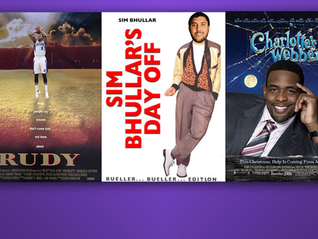 Kings Fans Get Creative with #NBAMovies