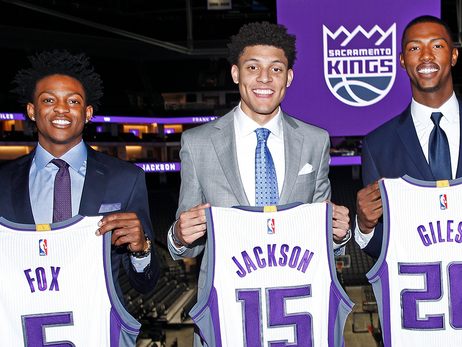 Kings Exercise Team Options on Fox, Giles, Hield, Jackson and Labissiere