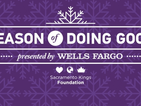 Kings Launch Season of Doing Good