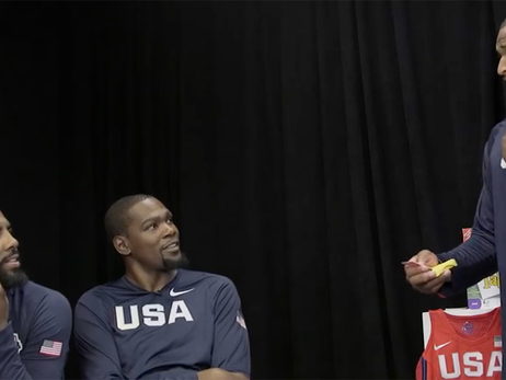 Team USA Also Good at Taboo
