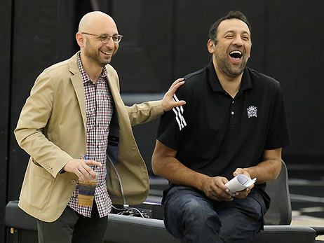 Divac Working to Create Fun Atmosphere