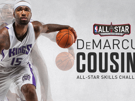 DeMarcus Cousins to Compete in 2016 Skills Challenge at NBA All-Star Weekend
