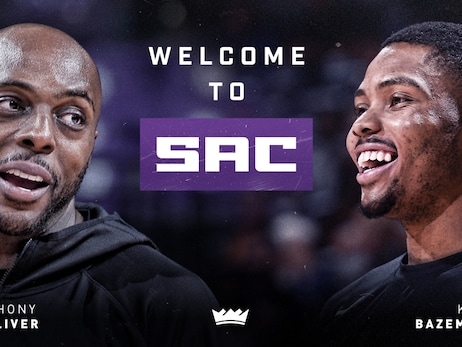 Kings Acquire Kent Bazemore, Anthony Tolliver, 2024 and 2025 Second-Round Draft Selections