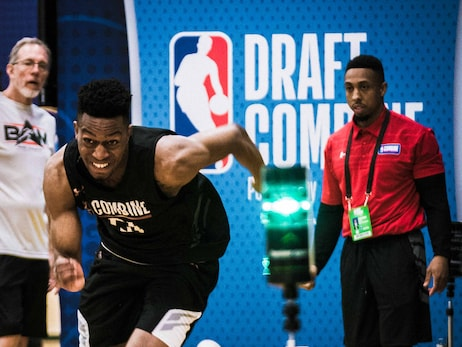 BTS: 2018 NBA Draft Combine with our front office staff