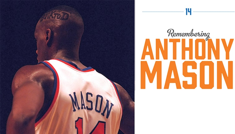 best sneakers 122c9 0aa39 Remembering Anthony Mason | New York Knicks