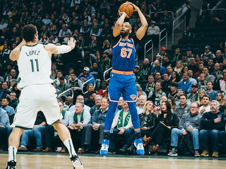 Knicks on the Court: January 14 @ Bucks