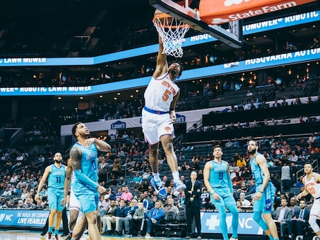 Knicks on the Court: February 26 @ Hornets