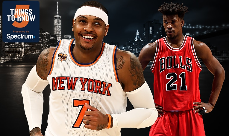 5 Things to Know: Knicks Face Surging Bulls at MSG