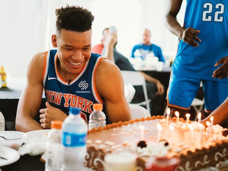 Behind the Scenes at Kevin Knox's NBA Rookie Shoot
