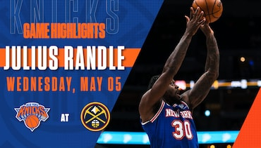 Highlights: Julius Randle (14 Points) | Knicks @ Nuggets