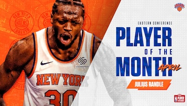 Julius Randle Named Eastern Conference Player of the Month | April 2021