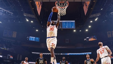 Highlights: Julius Randle (24 Pts / 13 Reb / 5 Ast) | Knicks @ Warriors