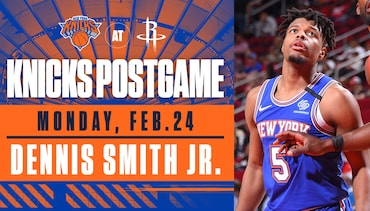 Dennis Smith Jr. Speaks Following the Knicks' Matchup in Houston