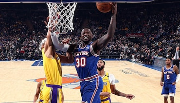 Highlights: Julius Randle (16 Points) | Knicks vs. Lakers
