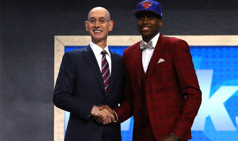 Knicks Select Frank Ntilikina with the No. 8 Overall Pick in 2017