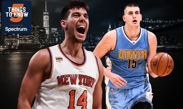 5 Things to Know: Knicks Host Nuggets in Second Meeting of the Season