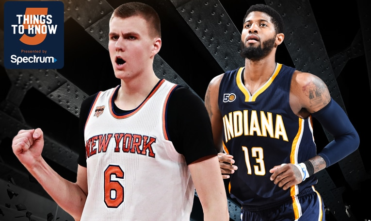 5 Things to Know: The Knicks Aim to Clinch Season Series Over Pacers