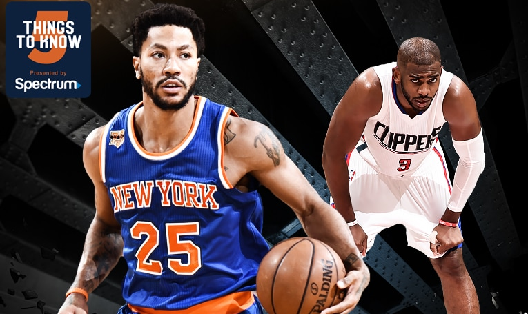5 Things to Know: Knicks Kickstart West Coast Trip with Matchup Against Clippers
