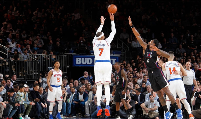 LAC 119 NYK 115: Knicks Suffer Defeat to Clippers in High-Scoring Shootout