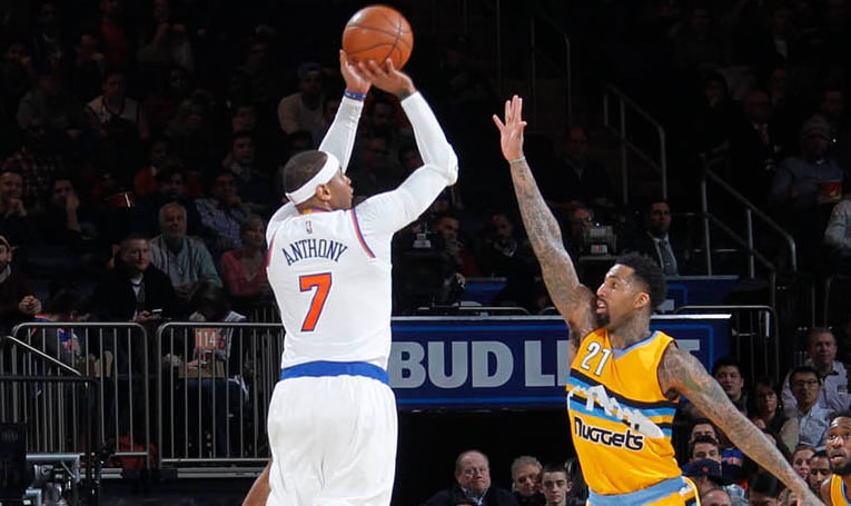 DEN 131, NYK 123: Melo Posts 21 in 4th But Knicks Suffer Defeat at MSG ...