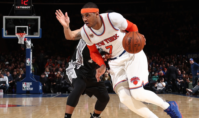NYK 94 SAS 90: Melos Clutch Buckets Lift Knicks Over Spurs in Sunday Matinee