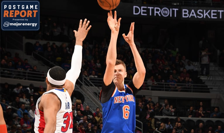 DET 112 NYK 92: Harris Scores a Season-High 28 to Lead Pistons Over Knicks