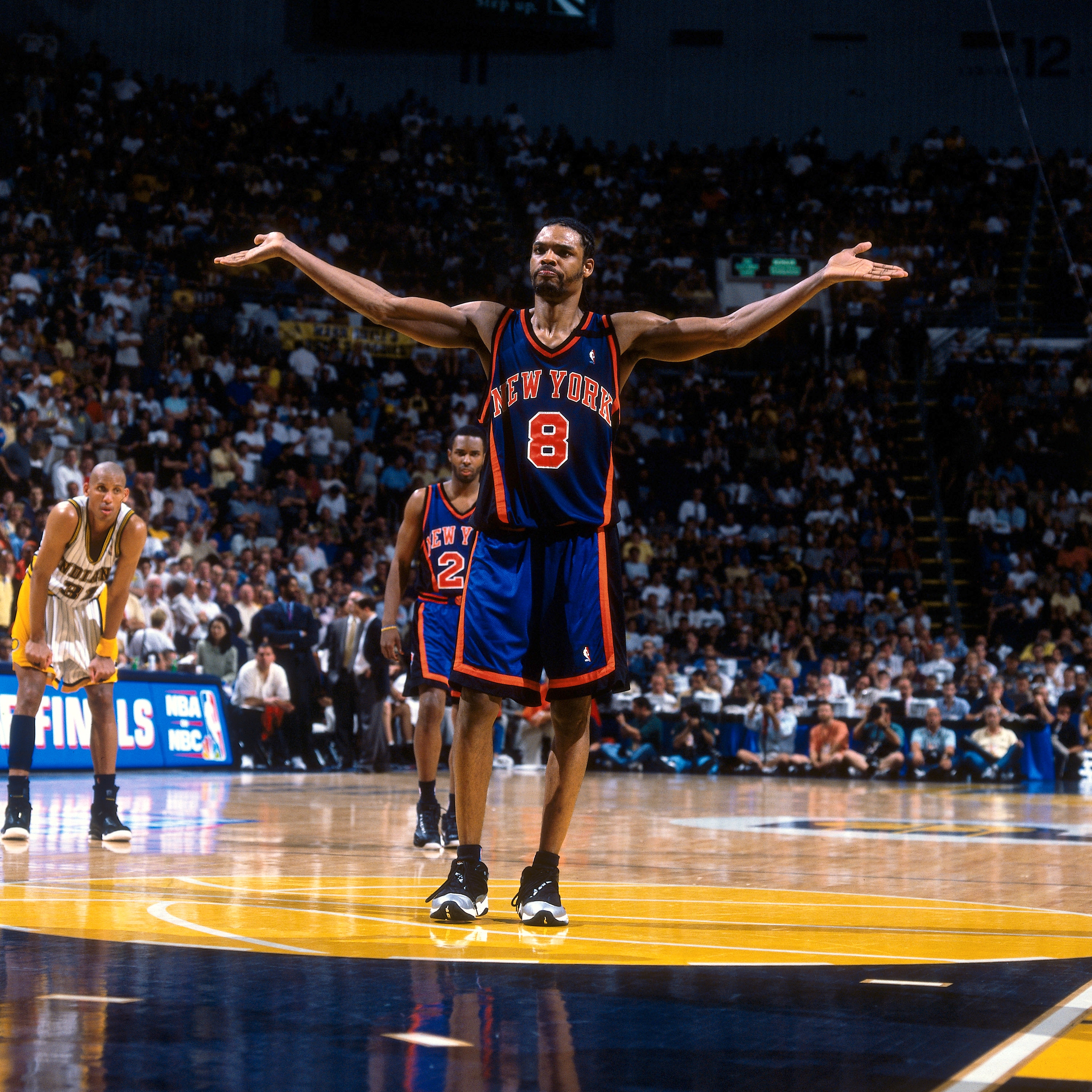 official photos e1627 0856f Gallery: Sprewell in the Orange and Blue | New York Knicks