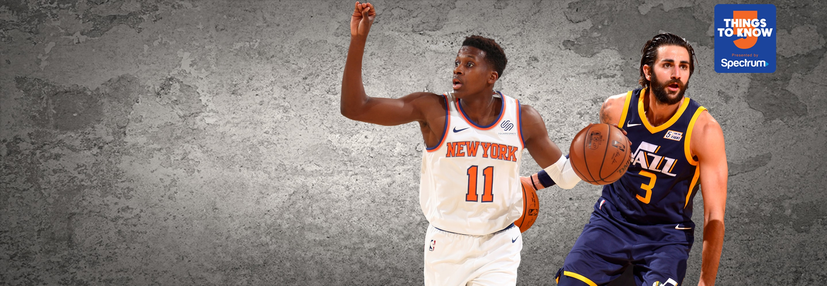 Knicks Look to Bounce Back in Utahs Lone Trip to MSG