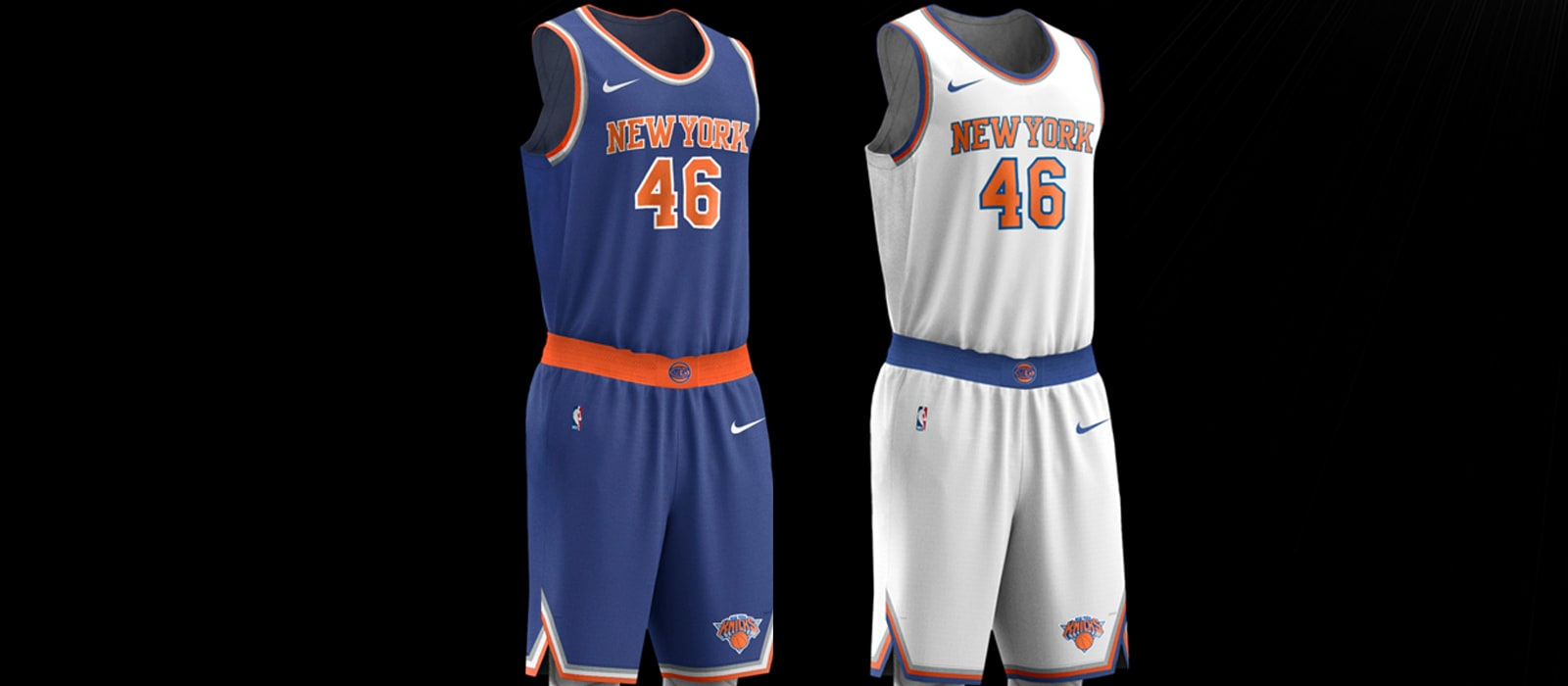 cca7705d4bd Uniform Details  New-Look Knicks Nike Jerseys
