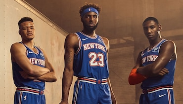New York Knicks 2019-20 Statement Uniforms Are Here