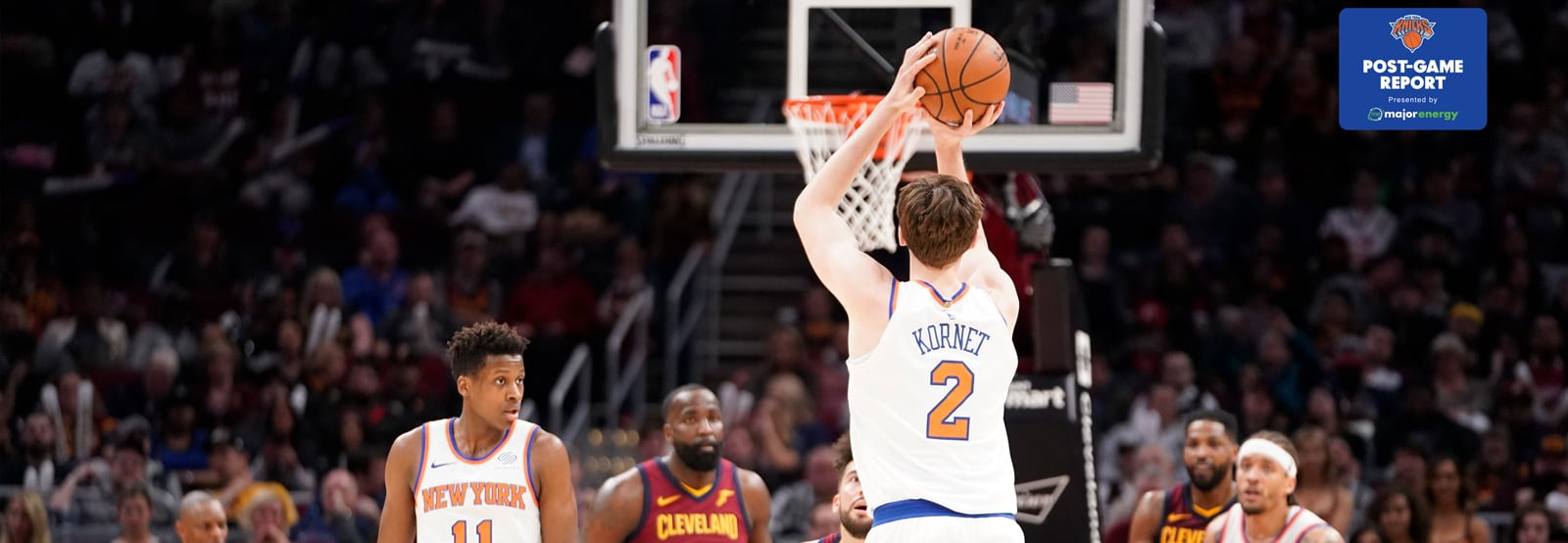 Knicks Close 2017-18 Campaign with Win Over Cavs