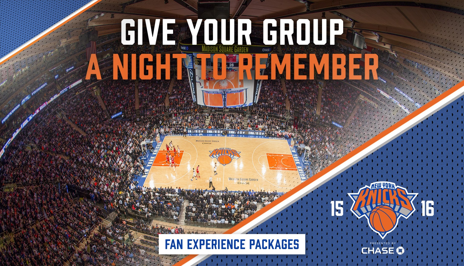 Give your group a NY night to remember - Fan Experience Packages