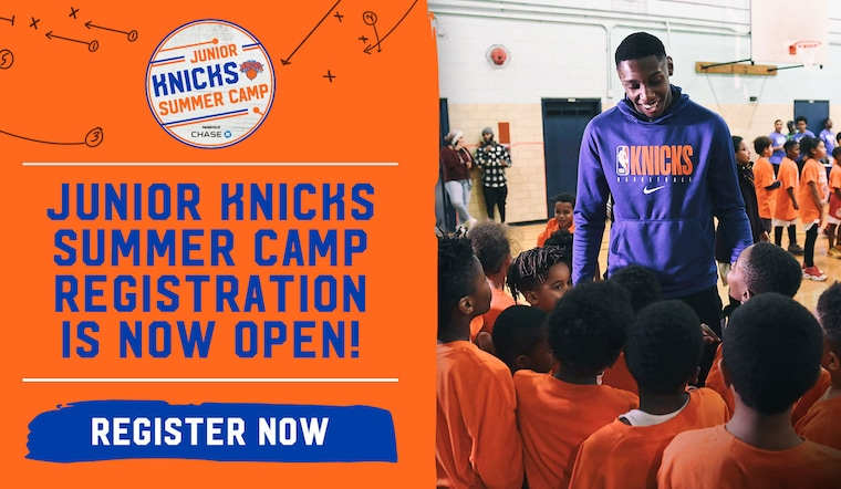 Register Now For Junior Knicks Summer Camp, Featuring Special Appearances by Current Knicks Players & Alumni