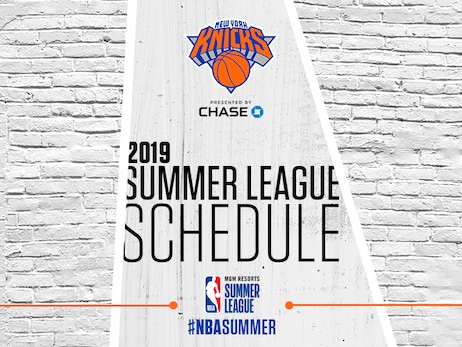 New York Knicks Announce 2019 Summer League Roster