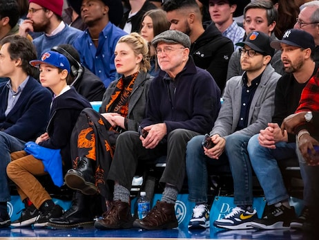 Celebrity Row: January 1 vs. Trail Blazers