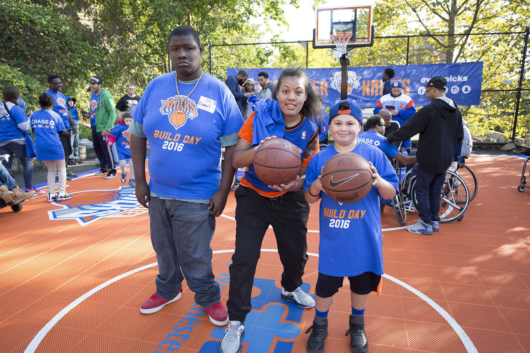 KaBoom Playground Build Presented by Chase | New York Knicks