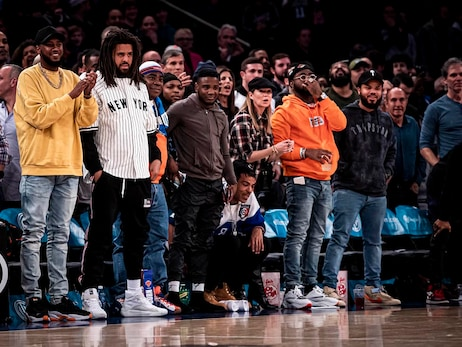 Celebrity Row: November 24 vs. Nets