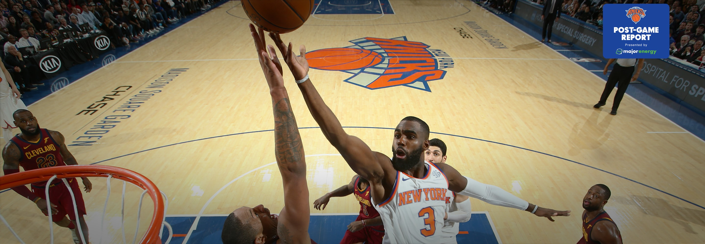CLE 104 NYK 101: Hardaway Jr. Scores 28 in Narrow Defeat at MSG