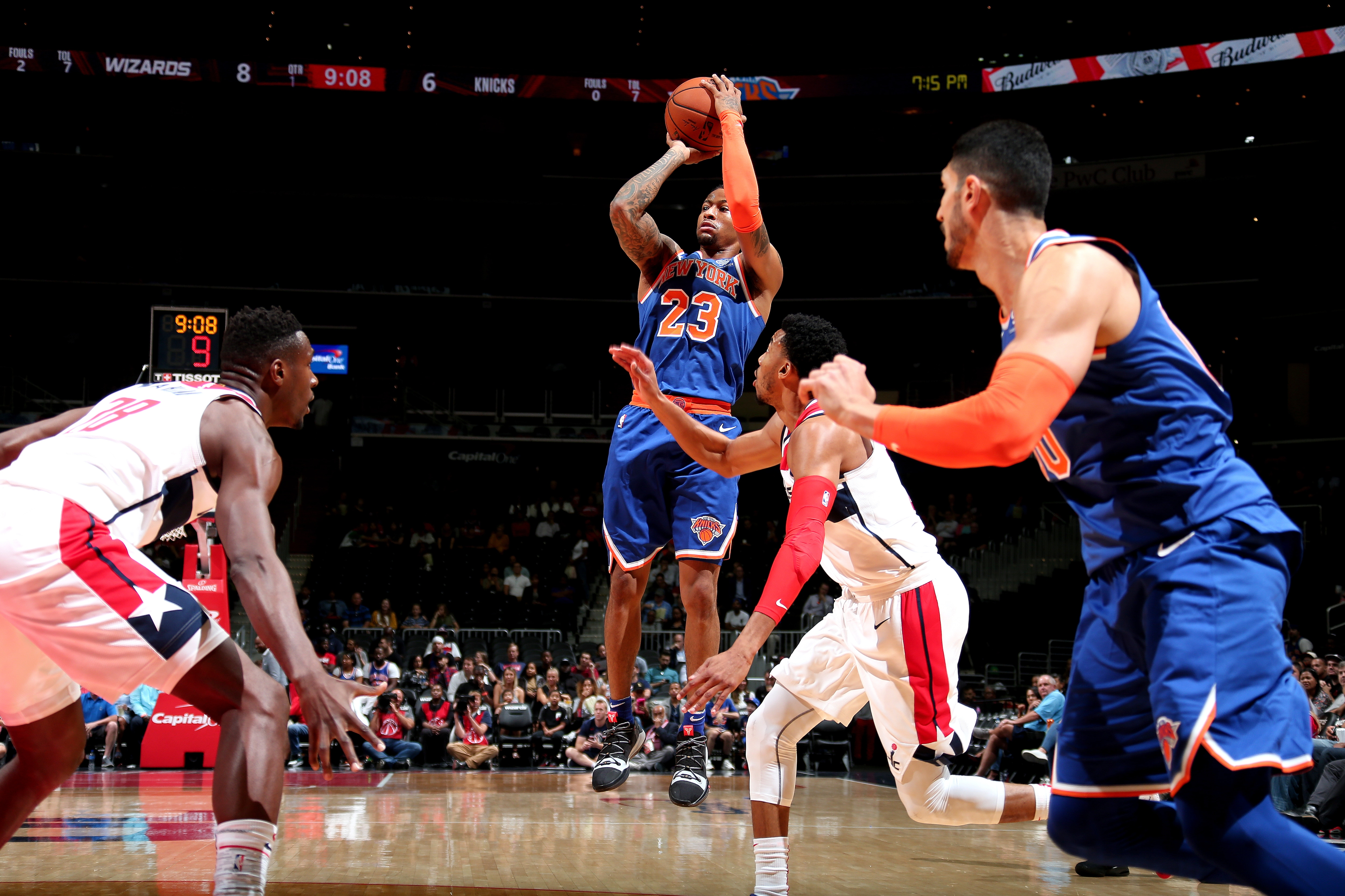 Knicks on the Court: Oct 1 @ Wizards | New York Knicks