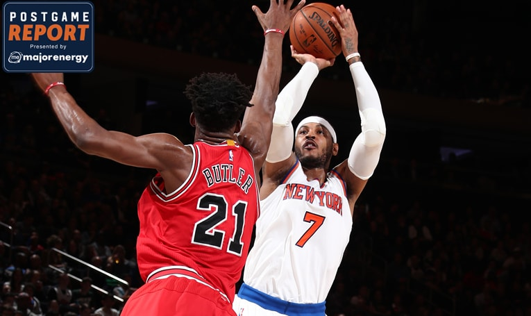 NYK 100 CHI 91: Knicks Roll Past Bulls to Complete Season Series Sweep