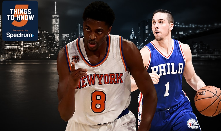 5 Things to Know: Knicks Square Off Against Sixers in Season Finale