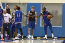 Inside Knicks Training Camp: Day 3 Photos