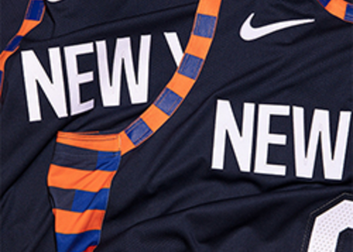 sports shoes 37422 9964d New York Knicks Unveil City Edition Uniforms Inspired by the ...
