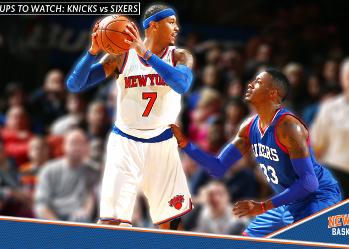 dacf4dfe0 Matchup to Watch  Knicks vs 76ers