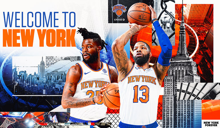 Knicks Welcome Reggie Bullock and Marcus Morris to The Mecca
