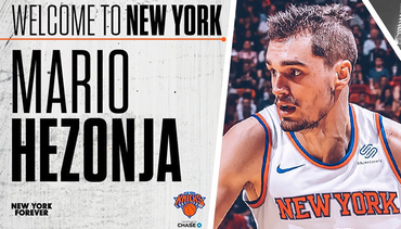 NEW YORK KNICKS SIGN MARIO HEZONJA